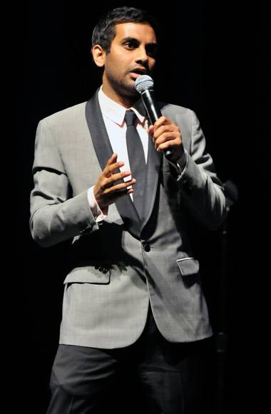 Aziz Ansari performs at the Mirage May 3 and 4.