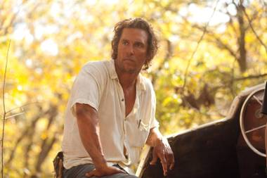 If there's any dispute that Matthew McConaughey is on a major roll, Mud should settle it once and for all.