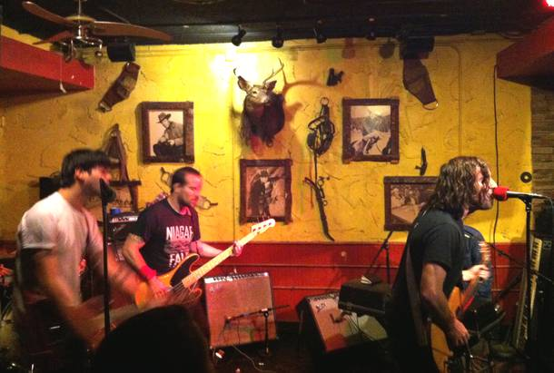 The Men, performing Wednesday at the Bunkhouse.