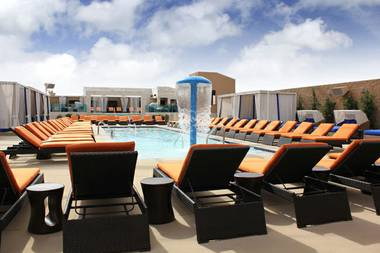 Sapphire Pool & Dayclub celebrates its grand opening this weekend.