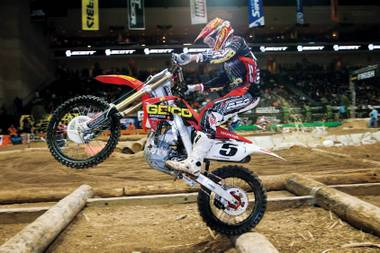 EnduroCross—it's off-road fun, inside!