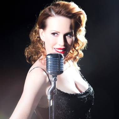 Pretty in black: Molly Ringwald knows jazz, and she can sing it, too.