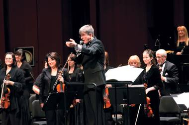 Las Vegas Philharmonic's upcoming Fourth of July symphonic extravaganza will include fireworks, guest artists and music piped outside to Symphony Park.