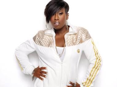 Working it: Missy Elliott brings hits (and fierce hair) to Haze this weekend.