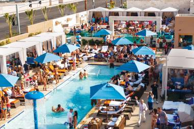 Join the club: Sapphire Pool & Dayclub offers a quality pool experience away from the Strip.