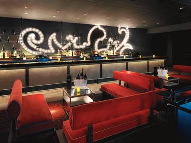 The new Light Nightclub's design is beautifully complex, from flying Cirque performers to sensual textures.