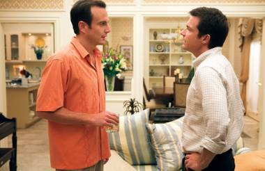 Will Arnett and Jason Bateman star in the fourth season of Netflix's Arrested Development.