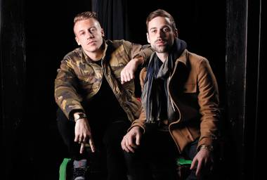 Macklemore and Ryan Lewis help Surrender blow out its birthday candles June 5.