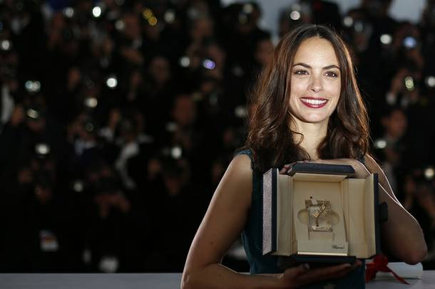 Bérénice Bejo was honored at Cannes this year for her performance in The Past.