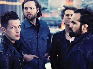 The Killers will headline one night of Life Is Beautiful's October music run.