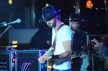 Ryan Bingham played Cosmopolitan's Boulevard Pool on June 13.