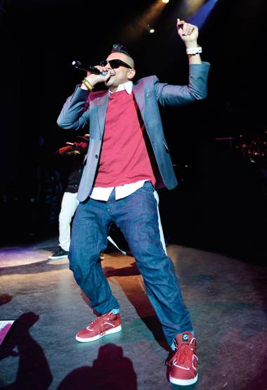 Reggae in the desert: Sean Paul will raise the temperature at 1 Oak this weekend.