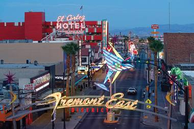 Police will be on horseback and will more strictly enforce open-container laws, but there will be no fence around Fremont East when the overflow crowds from First Friday descend upon the area July 5.