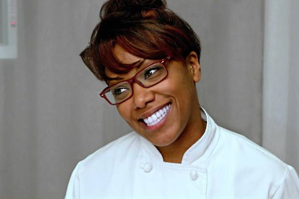 The VIP dining cuisine is courtesy of Top Chef: Seattle's Nyesha Arrington.