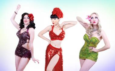 A burlesque show is one small part of an action-packed weekend event at South Point.