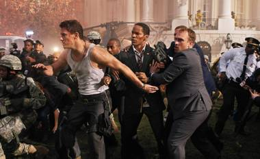 John McClane—er, Channing Tatum is the only guy who can save the White House from … oh, who really cares?