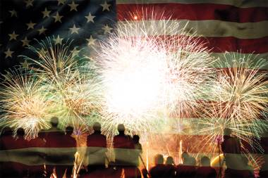 With numerous fireworks displays planned across town, Fourth of July in Las Vegas is a pyro's paradise.