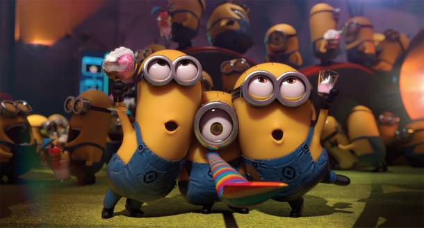 You know 'em, you love 'em, and the minions are back in Despicable Me 2.