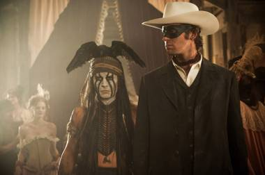 Johnny Depp and Armie Hammer do their best to tarnish yet another classic's reputation with The Lone Ranger.