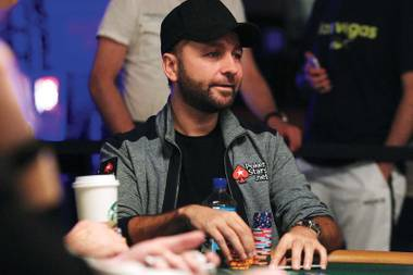 Just another day at the office for poker phenom Daniel Negreanu.