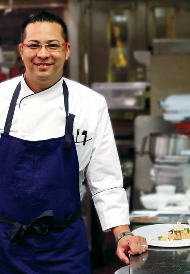 After running kitchens at Cosmopolitan, chef Gerald Chin is again focusing on one restaurant.