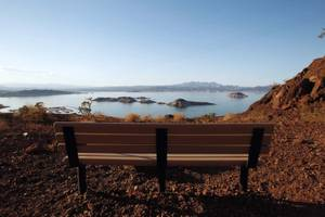 While most know Lake Mead for its water, the national recreation area is actually 87 percent land.