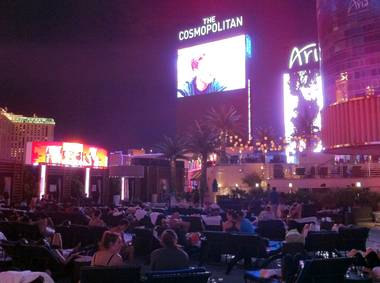 The Boulevard Pool is not only good for swimming and concerts, but movies, too.