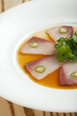Nobody does it better: yellowtail jalapeño at Nobu at the Hard Rock Hotel.