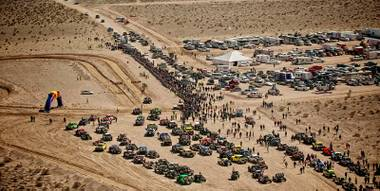 The Mint 400, a brutal desert off-road race, was revived in 2008 and is run every year south of Las Vegas.