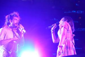 Alex Ebert and Jade Castrinos serenade each other, and you.