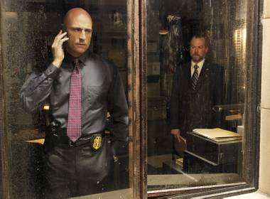 Mark Strong and David Costabile provide plenty of intensity to AMC's Low Winter Sun.