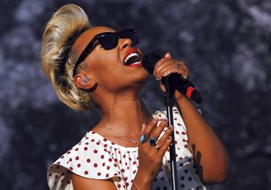 British singer Emeli Sandé performed at House of Blues on August 9.
