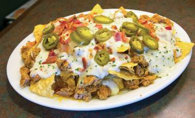 If you don't make nachos with spicy sausage gravy, you're doing it wrong.