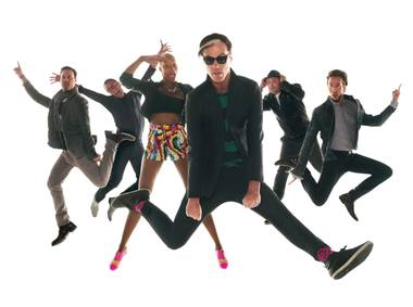 Fitz and the Tantrums play Cosmo's Boulevard Pool Thursday night.