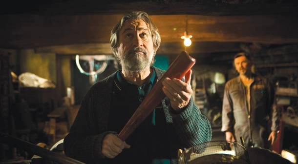 Will Robert De NIro's performance in The Family join our staff picks for favorite performance? Who knows?