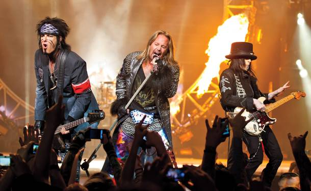 Home Sweet Home: The Hard Rock has played host to recent residencies including Mötley Crüe, Def Leppard and Guns N' Roses.