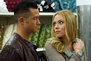 "Joseph Gordon-Levitt and Scarlett Johansson are ""Jersey Shore"" refugees in ""Don Jon."""