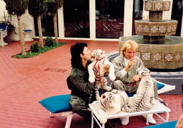 Magic act: For years, Siegfried and Roy dazzled audiences. Their show's abrupt ending changed the Strip forever.