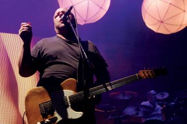 Black Francis, shown here during the Pixies' 2010 Joint stopover, returns to town in February.