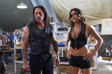 Danny Trejo and Michelle Rodriguez star in Machete Kills.