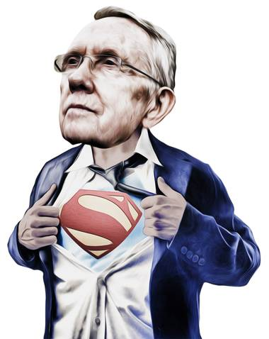 When it comes to verbal assaults, Reid is king.