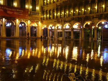 St. Mark's square—flooded.