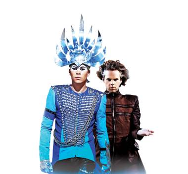 Empire of the Sun brings their dance party to Life Is Beautiful.