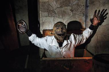 Scared yet? The tension never lets up at Freakling Bros. Trilogy of Terror.