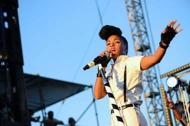 Janelle Monáe performs Sunday at Life Is Beautiful.