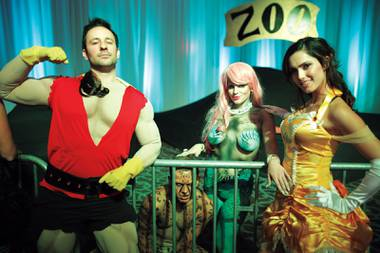 Disney-fied: Animated characters get the adult treatment at Fetish & Fantasy Ball.