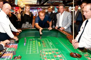 Wynn win: Steve Wynn had some fun at the opening of the Downtown Grand last month.