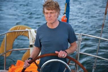 Robert Redford is having a really, REALLY bad day.