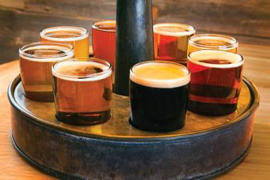 Wheel of fortune: 1842's flights are a beer adventure.