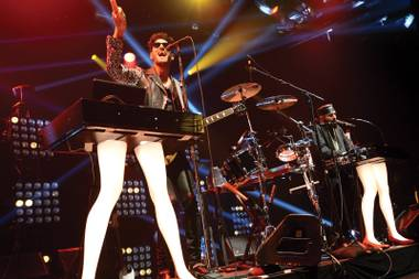 Double threat: Chromeo heads up a DJ set at 1 Oak this weekend.
